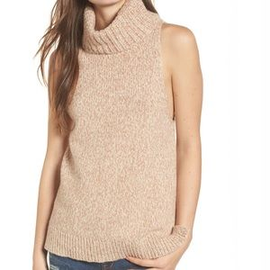 Madewell Turtleneck Sweater Vest - NWOT